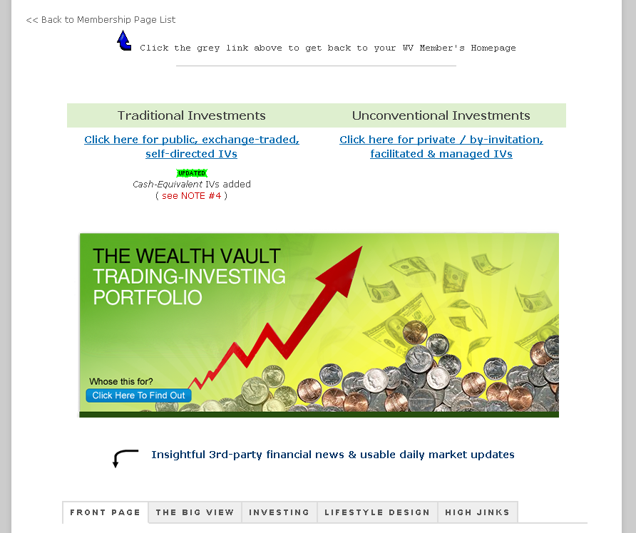 the wealth vault by brad weinman