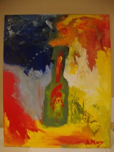 01 thebottle 225x300 Paintings