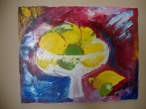 Still Life- Lemons and Limes