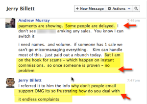 snag highlight endless complaint 300x212 Jerry Billett   The REAL Truth