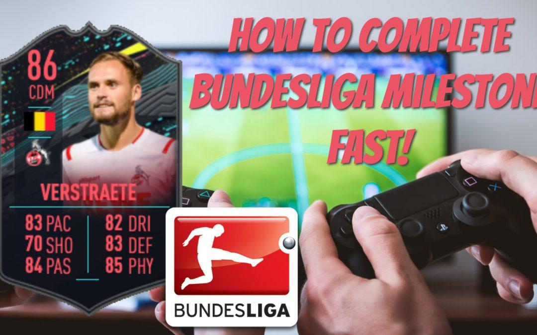 How To Complete The Bundesliga Milestone Player Objective in FIFA 20 (Birger Verstraete)