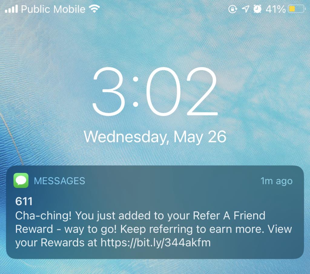 public mobile referral code