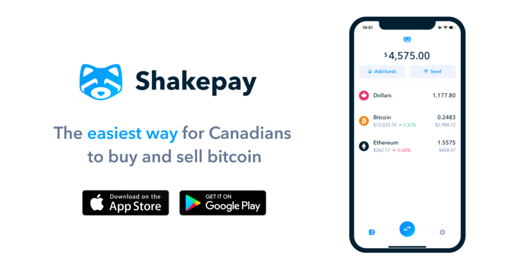 shakepay best place to buy bitcoin in canada